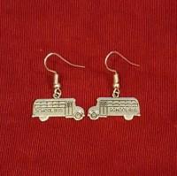 School bus earrings | Etsy