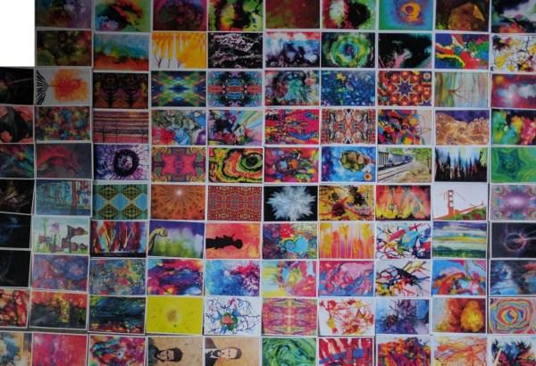 Bulk Art Postcards Postcard Lot Artist