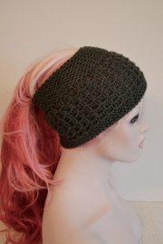 ponytail hat hair wrap keepfit