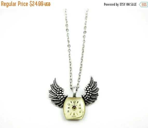Ornate Pocket Watch Pendant Antique Waltham Equity by