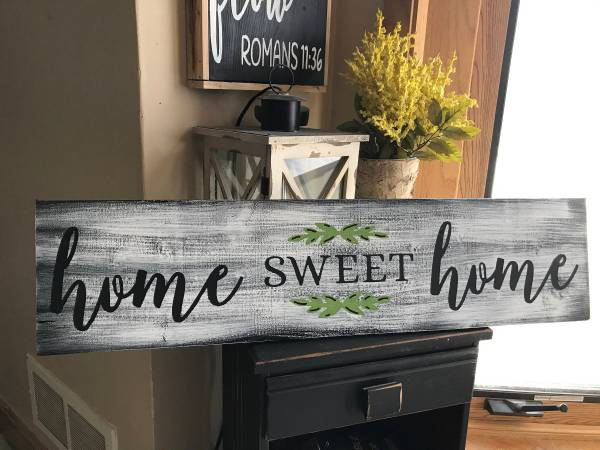 Home Sweet Rustic Country Fixer Upper Style Farmhouse