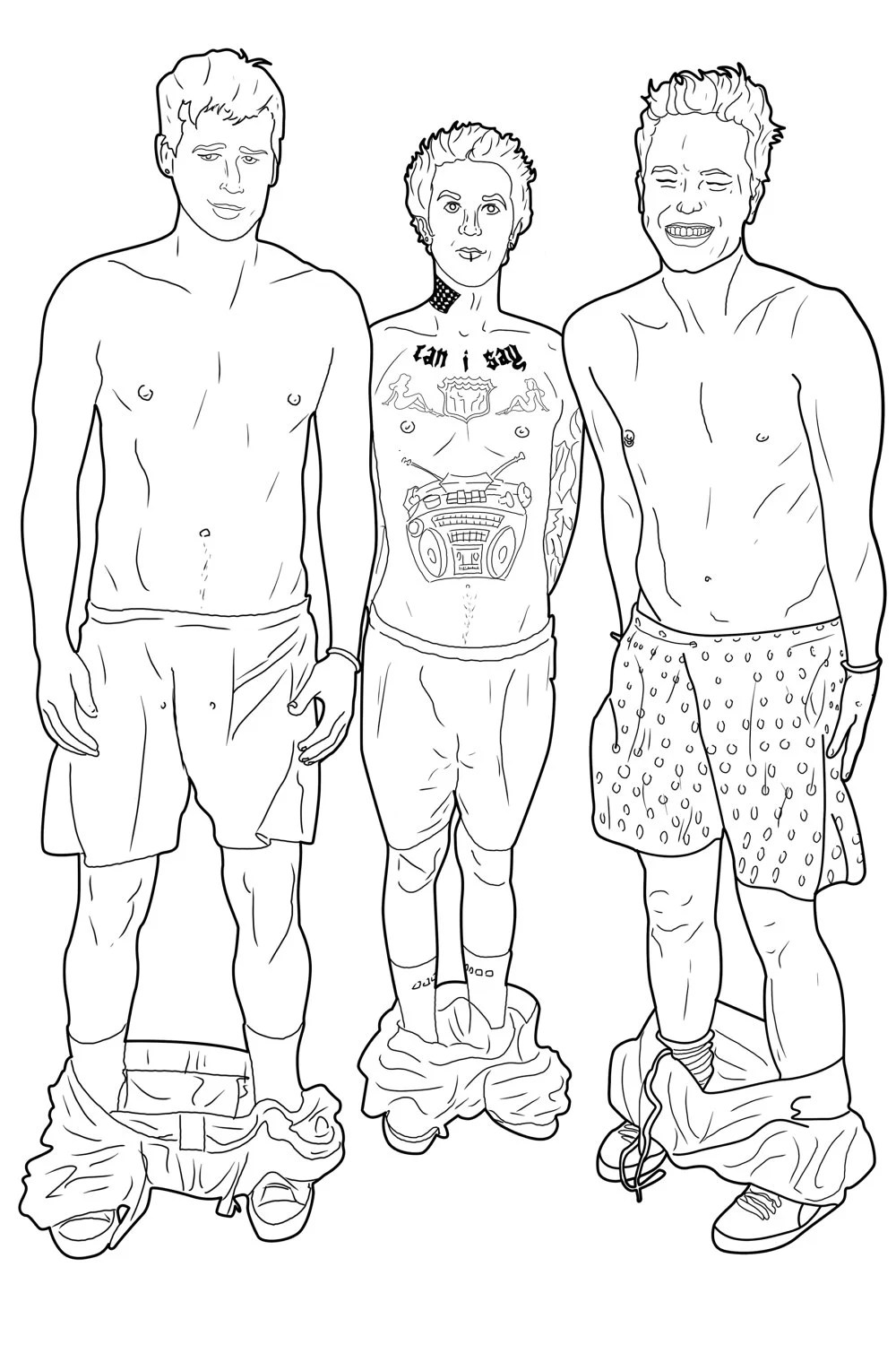 There's A New 'Pop Punk Coloring Book' And You're Gonna