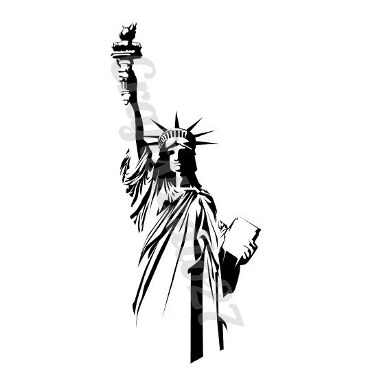 Digital file of the Statue of Liberty, for print and