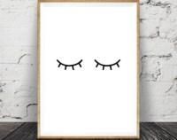 Eyelash art | Etsy