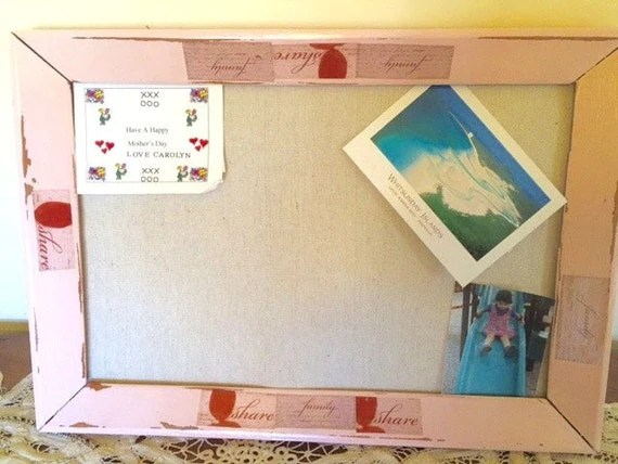 Shabby Chic Bulletin Board