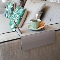 Sofa Arm Rest Tray Poltrona Frau Bed Placemat Table Armrest