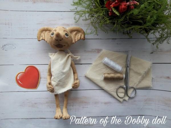 Pattern Of Dobby Doll Harry Potter 9
