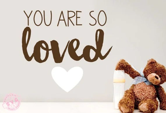 Download You are so loved heart SVG, Baby Art Instant Download ...