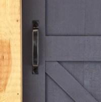 Door pull barn door hardware