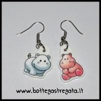 Hippo earring   Etsy