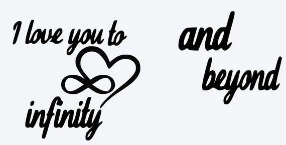 Download SVG i love you to infinity and beyond matching shirts