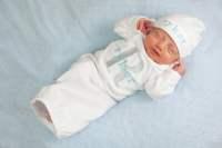 Newborn Baby Boy Monogram Personalized Take Home by mamabijou