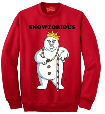 Snowtorious © - Ugly Christmas Sweater - Funny Christmas Sweater - Unisex - For Men and Women