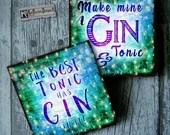 Gin Lovers Coaster Set: D...