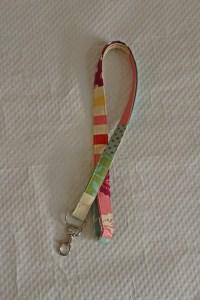 Patchwork Lanyard / Pink Lanyards/Lanyards/ID Badge Holders