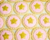 Glittery Star Sugar Cooki...