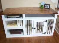 Made to Order Custom Built Dog Crate Furniture Dog Kennel