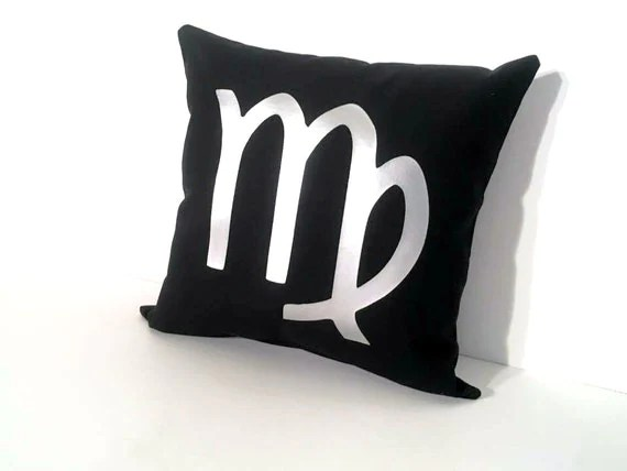 Cute throw pillows make the best zodiac sign gifts!