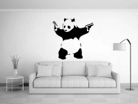 Banksy wall art