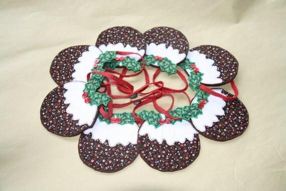 Christmas Pudding Garland/Bunting