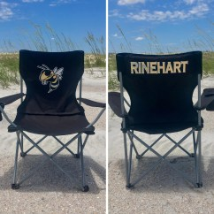 Custom Folding Chairs Swivel Chair Hardware Personalized Coaches Gift Camp