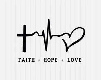 Download Faith hope love | Etsy