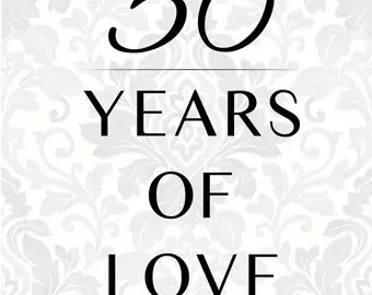 Download 50 years svg | Etsy