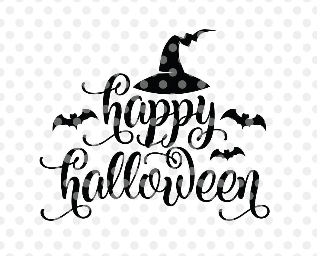 Happy Halloween Svg Happy Halloween Cut File Halloween