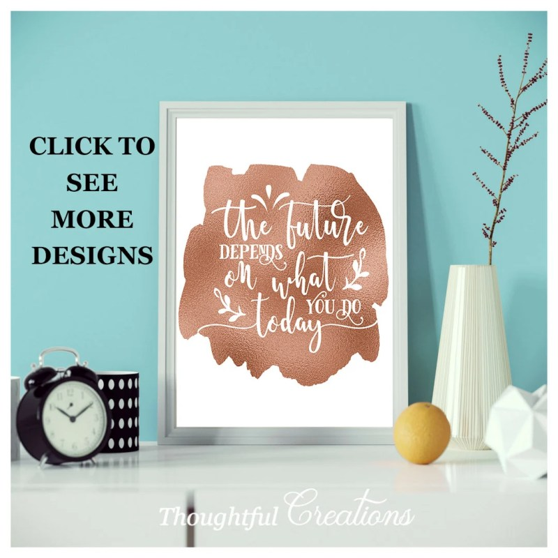 Inspirational Quote Print...