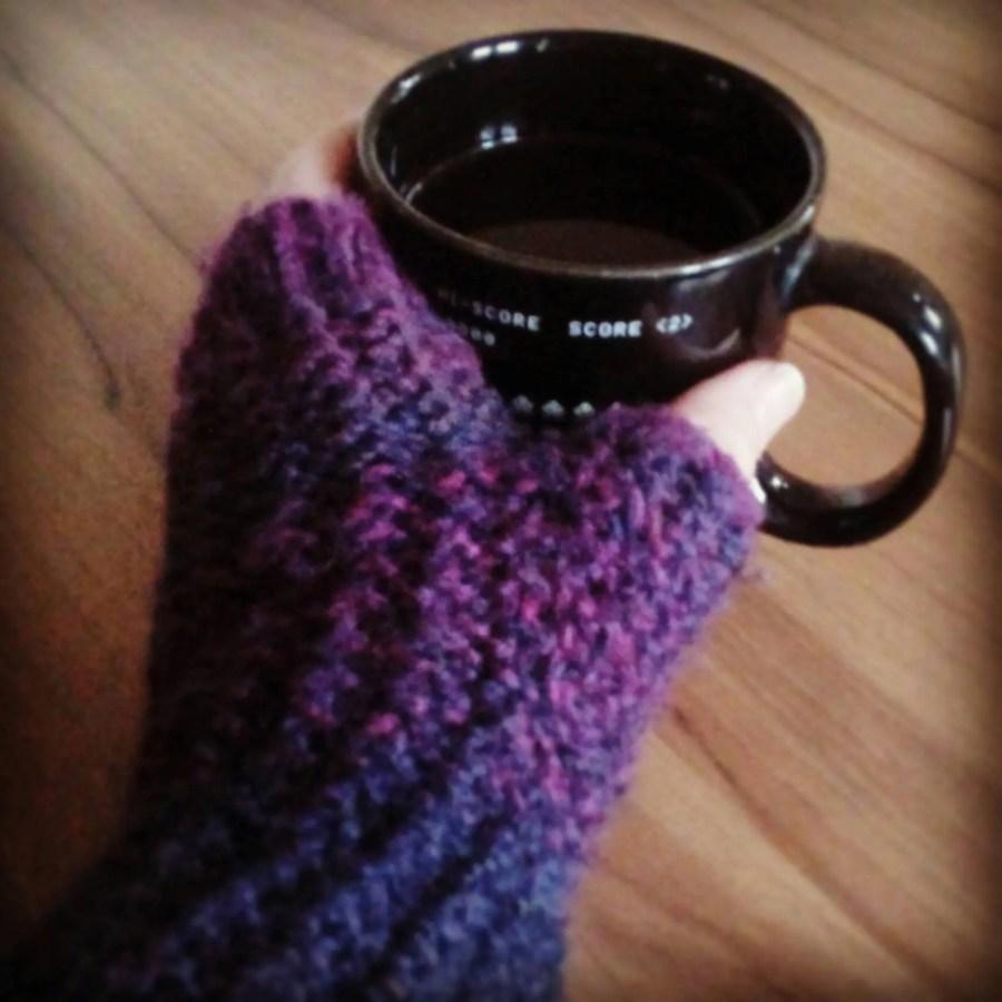 Knit Fingerless Hand-Warm...