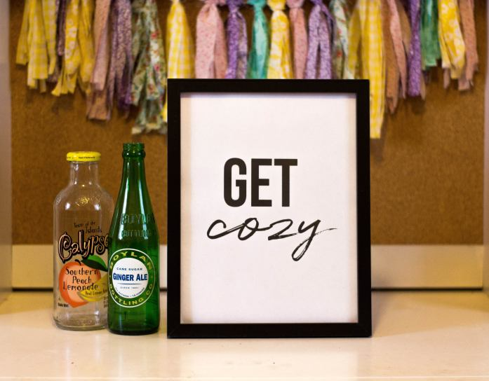 Get Cozy Printable Wall D...