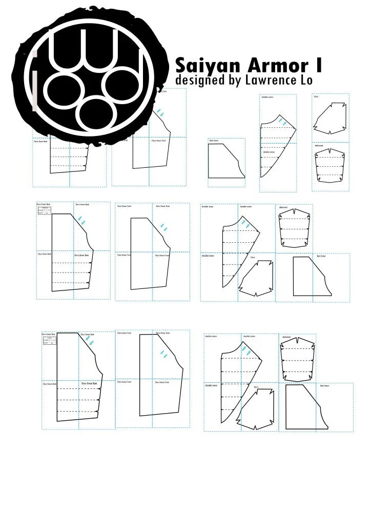 Your Shop For Cosplay Patterns And Kits By IWoodCosplay