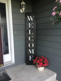 Welcome Sign Welcome Sign Front Porch Welcome Sign Front