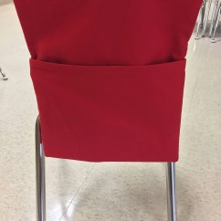 Classroom Chair Covers With Pocket Rei Flex Lite Vs Helinox Sewing Pattern Diy Pockets For Or Homeschool