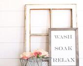 WASH SOAK RELAX Farmhouse...