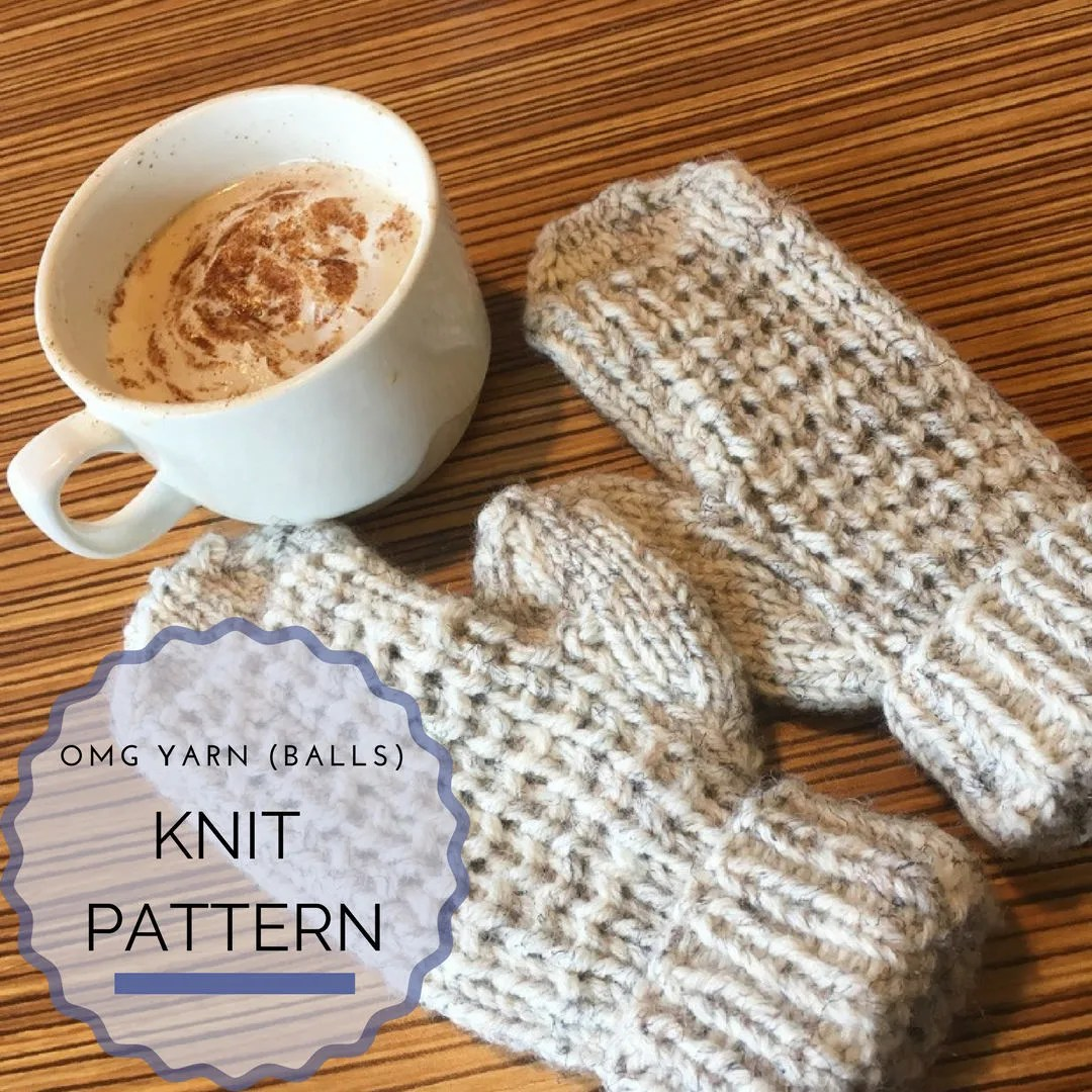 Knit Pattern - Mittens - ...