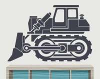 Construction Vehicles Vinyl Wall Decal and Stickers Boy