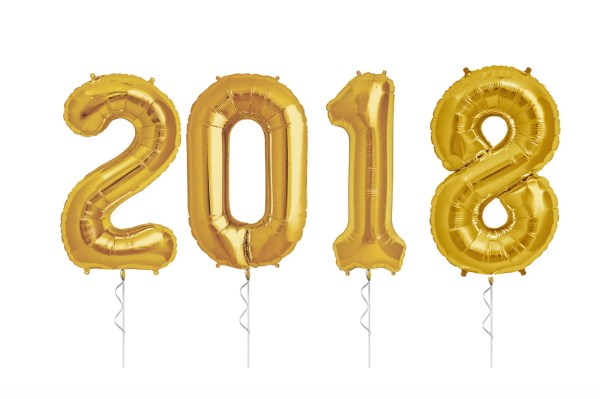 2018 balloons decor nye party