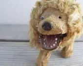 Vintage wind up toy Lion,...