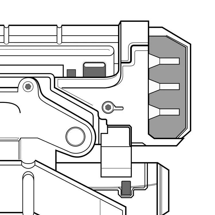 M-25 Cerberus Hornet Blueprint Mass Effect