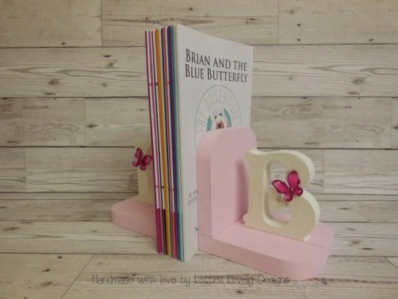 Handmade Girl's bookends