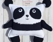 Pudgy Panda Plushie Croch...
