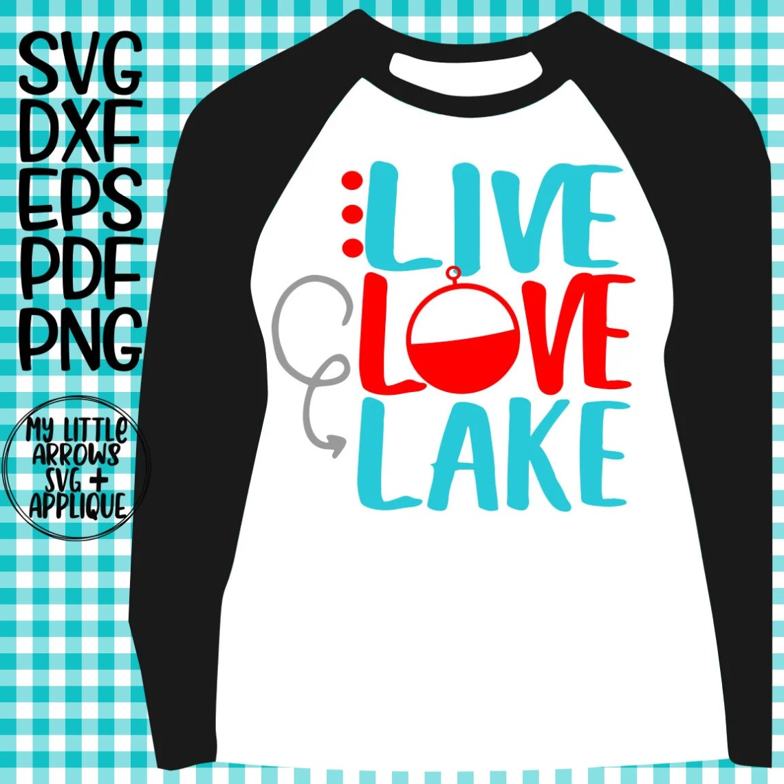 Download Live love lake SVG DXF EPS png Files for Cutting Machines