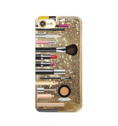 gold glitter iphone case makeup phone case iphone 8 iphone 7 plus  [ 1000 x 1000 Pixel ]