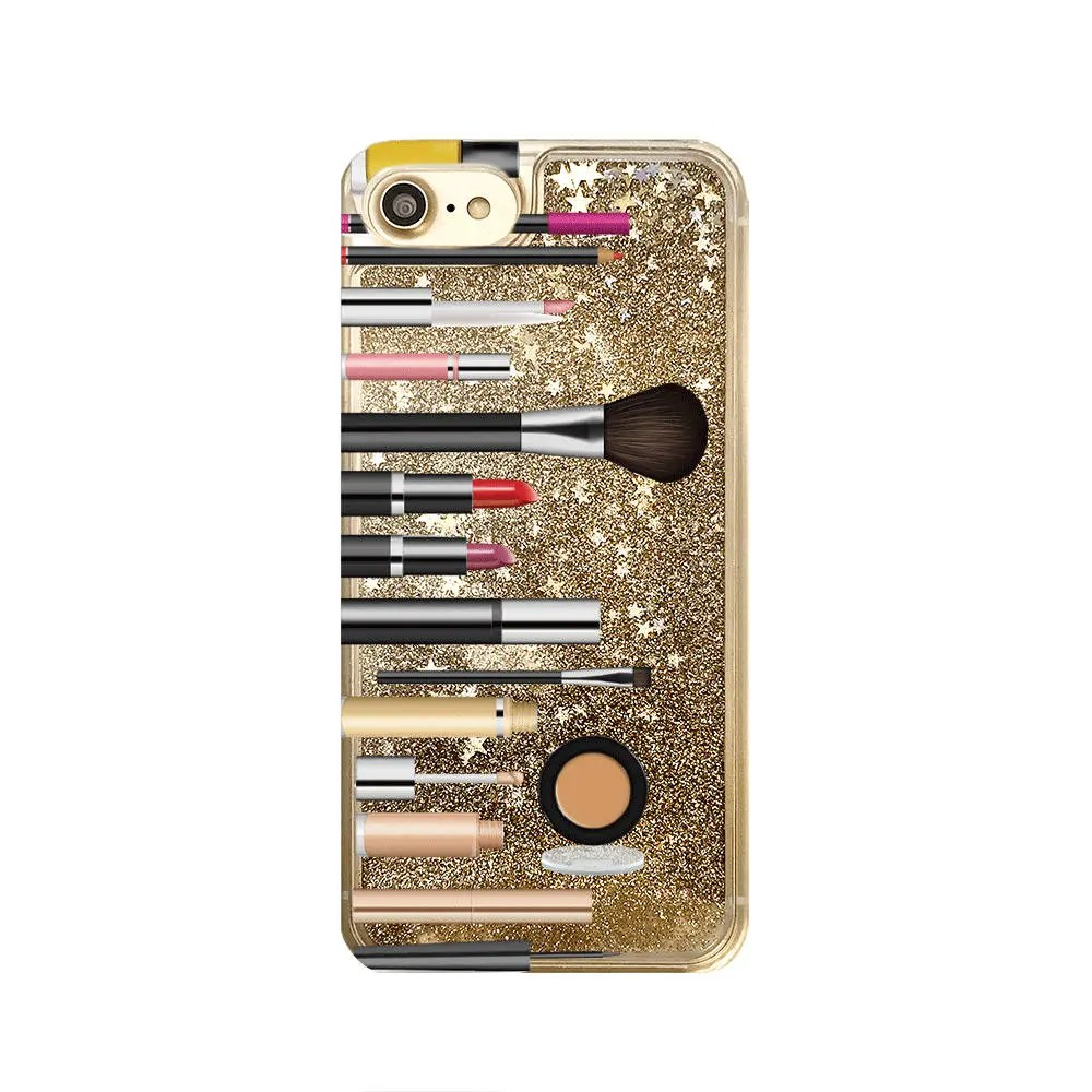 medium resolution of gold glitter iphone case makeup phone case iphone 8 iphone 7 plus