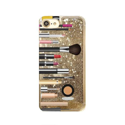 small resolution of gold glitter iphone case makeup phone case iphone 8 iphone 7 plus