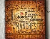 Vintage Style Manchester ...