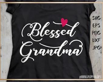 Download Grandma clipart | Etsy
