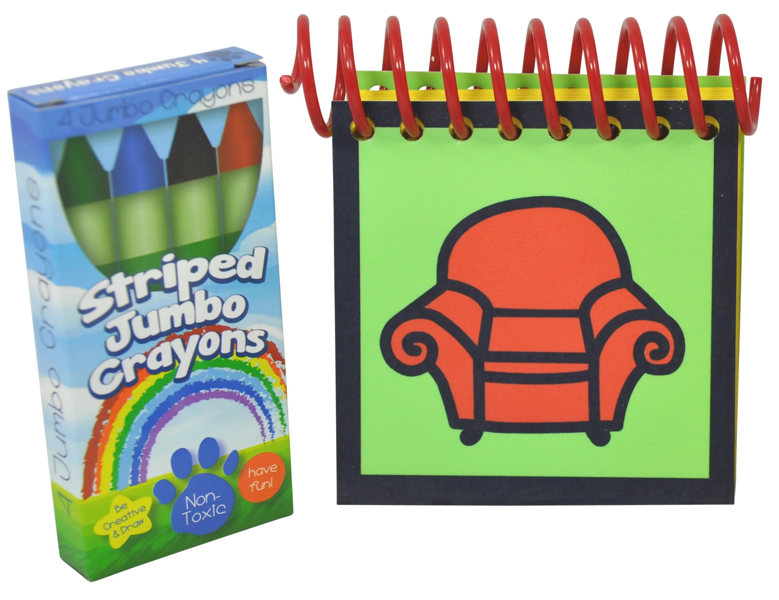 Blue S Clues Handy Dandy Notebook With Box Of 4 Crayons