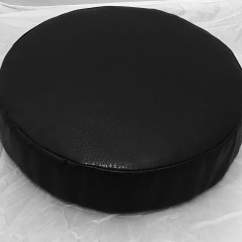 Western Chair Pads Queen Anne Style Recliner Round Cushion Faom Upholstery Barstool